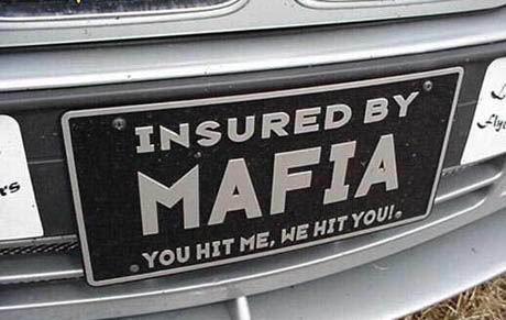 Billede Mafia forsikring
