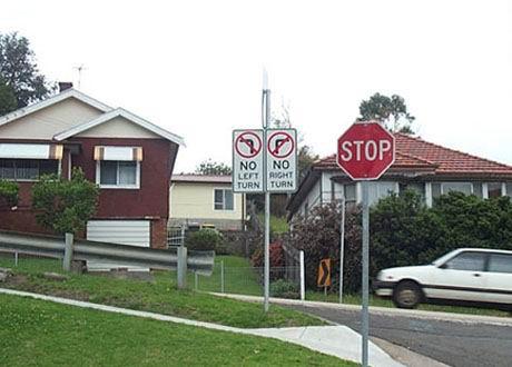 Billede Trafikskilt ingen vej ud